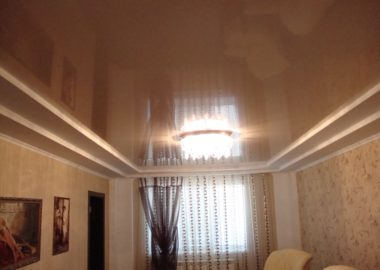 Глянцевые натяжные потолки Чехов